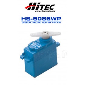 Hitec HS-5086WP Micro Digital Programmable Water Proof Servo Motor (Industry First Waterproof Servo)(Metal Gear)
