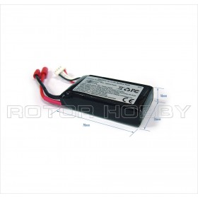 11.1V 1000mAh LiPo Battery 25C