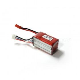 11.1V 500mAh 25C LiPo Battery, JST plug