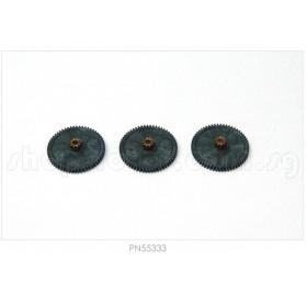 PN55333 Hitec Servo Gear Set (1st Gear Set)(3pcs), for HS-7980TH or HS-M7990TH