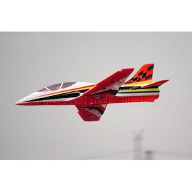 FreeWing Model Avanti S Red 80mm EDF Electric Ducted Fan RC Sport Jet - PNP
