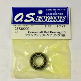 23730000 O.S. ENGINE Crankshaft Ball Bearing (Rear) (Japan) (13x25x6mm), 21RZ, 37SZ-H