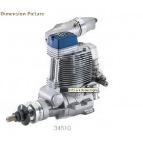 O.S. ENGINE FS⍺-81 Four Stroke Engine with F-5030 Muffler