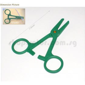 #6931 / TET6931 TETTRA Forceps for tube (total length of forcep: 11.5cm), For Fuel cut / fuel stopper / Fuel Cut-off