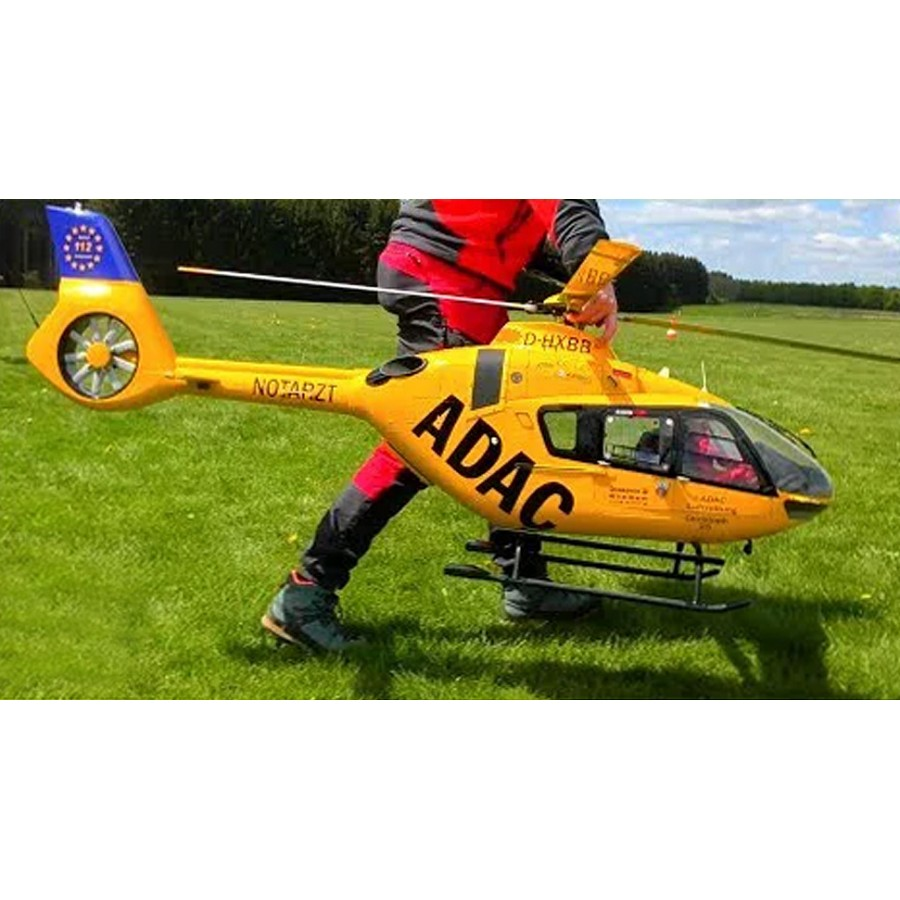 Buy EC-135 T2 Helicopter KIT 800 Size German ADAC Version
