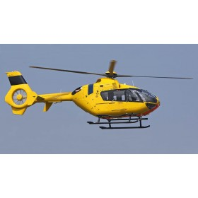 EC-135 T2 Helicopter KIT 800 Size German ADAC