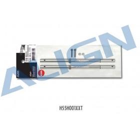 H55H001XXT ALIGN 550L Main Shaft Set for T-REX 550L