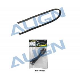 H50T008XXT ALIGN 500X ALIGN Tail Drive Belt, for T-rex 500X