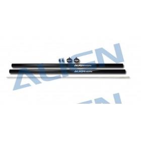 HN6090T ALIGN Tail Boom (2pcs) (Black), for T-REX 600 Nitro Super Pro / Electric Pro