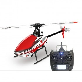 2.4G 6-Channel 3D6G Shuttle K120 Brushless Electric Helicopter with X6 Transmitter, Mode 2, Ready to Fly, RTF