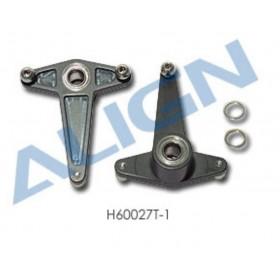 H60027T-1 ALIGN Metal Aileron Lever, for T-REX 600 Nitro