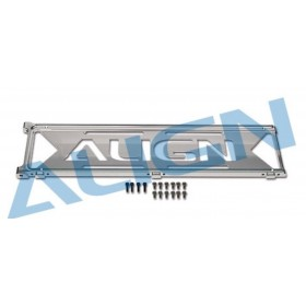 H70117T ALIGN Metal Bottom Plate, for T-REX 700E