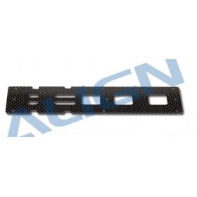 H50160T ALIGN 500PRO Carbon Bottom Plate / 1.6mm, for T-REX 500E PRO / 500EFL PRO