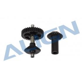 H50G013XXT ALIGN M0.7 Torque Tube Front Drive Gear Set/34T, for T-REX 470L
