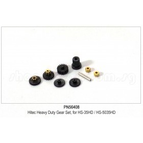 PN56408 Hitec Heavy Duty Gear Set, for HS-35HD / HS-5035HD #56408