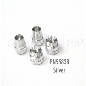 PN55838 Hitec Die-casted Alloy Control Stick Metal Knob (Silver), for Optic 5, Optic 6, Aurora 9 Transmitters #55838