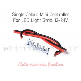 Single Colour Mini Controller For LED Light Strip