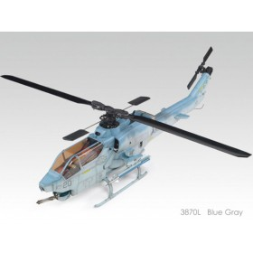 3870L THUNDER TIGER AH-1W Super Cobra Fuselage Conversion Kit (Blue Gray) (Assembly Required), for mini Titan E325 / Pro