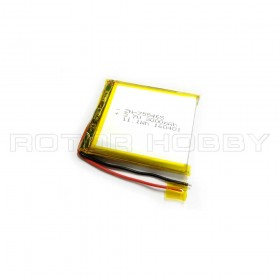 Rechargeable 3.7V 3000mAh LiPo Battery, 11.1Wh, 65x53x7mm, 55g for MSD03-11 use. Available in Singapore.