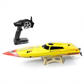 Electric RC Speedboat ANGRY SHARK (Vector PRO) 80cm Auto Roll-Back, ARTR