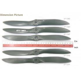 "LP1106P APC Propellers 11x6"" (279x152mm) (Gas/Nitro) - Pusher Propeller, Counter Rotating"