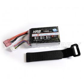 11.1V 1500mAh LiPo Battery, 35C, T Plug