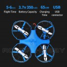 JJRC A150 X-ghost 3-in-1 Air Land Water Hovercraft Drone, Mode 2 Throttle Left