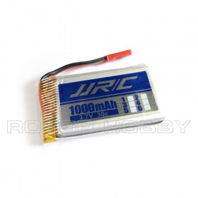 3.7V 1000mAh 30C LiPo Battery with JST connector