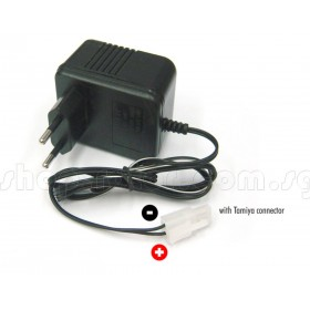 Huazheng Electronic 7.2V Ni-Cd A/C Charger 400mA, 50Hz, 220V Input, with Tamiya Connector HLT-CHR
