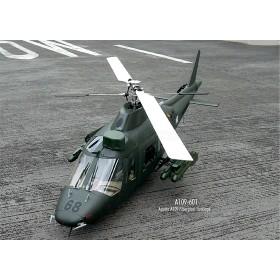 Agusta A-109 Fiberglass Fuselage w/ missiles, 50 size
