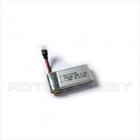 3.7V 350mAh LiPo Battery 25C with White Plug
