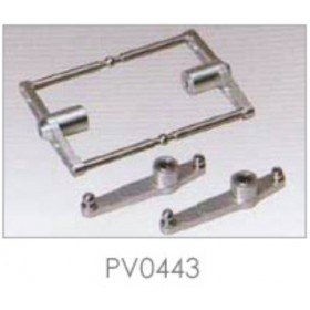 PV0443 THUNDER TIGER Stabilizer Control Set, For Raptor R30/50 / [4853] R50 Titan Option Part