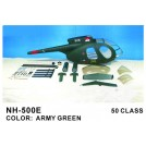 [NETT] FUN-KEY NH-500E Deluxe 50 ARF Painted Fiberglass Bodyshell / Fuselage