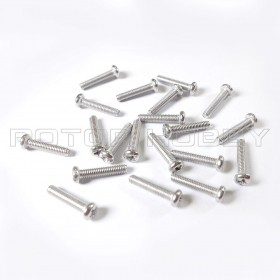 PHIL Screw 2.5x12mm (20pcs), 304 Stainless Steel
