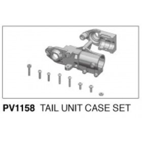 PV1158 THUNDER TIGER Tail Unit Case Set, for [3880] Torque Tube Conversion Kit (mini Titan E325)
