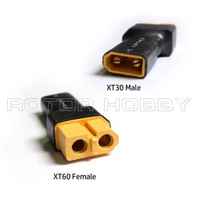 XT30 Male to XT60 Female Connector Adapter