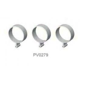 PV0279 THUNDER TIGER Tail Rod Guide (3pcs), for Raptor R30/50 / 50 Titan / SE / X50