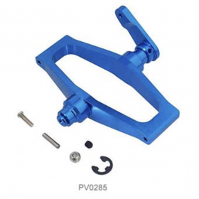 PV0285 THUNDER TIGER Metal Elevator Lever Set (Blue), for Raptor 60