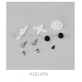 AQ1496 THUNDER TIGER ACE RC Servo Horn Set, C1016/C0915 (for servo 8117/8131)