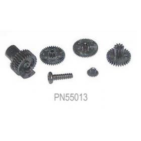 PN55013 / 55013 / Hitec Servo Gear Set (Karbonite), for HS-65HB