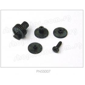 PN55007 / 55007 / Hitec Servo Gear Set (Karbonite), for HS-56HB