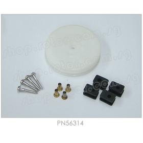 PN56314 / 56314 Hitec Winch Servo Drum & Hardware Set, for HS-725BB / HS-785HB