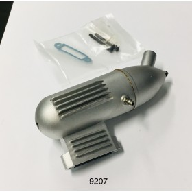 9207 THUNDER TIGER Muffler, For GP-40, Pro-25, Pro-36 Engine / gp40 / Pro25 / pro36