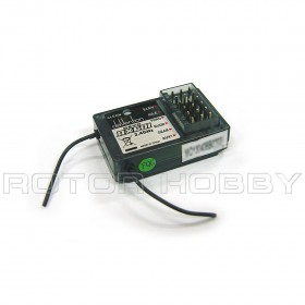 2.4Ghz 6 Channel RX601 Receiver for DEVO 6 / 7 / 8 / 10 / 12 Transmitter, DEVO-RX601