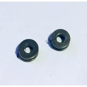 F5-10G Thrust Bearing with Groove (2pcs), Inner Dia. X Outer Dia. X Height: 5x10x4mm