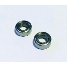 SMR126ZZ Bearing (2pcs), 420 Stainless Steel, Inner Diameter X Outer Diameter X Height: 6x12x4mm
