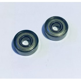 606ZZ Bearing (2pcs), Inner Dia. X Outer Dia. X Height: 6x17x6mm