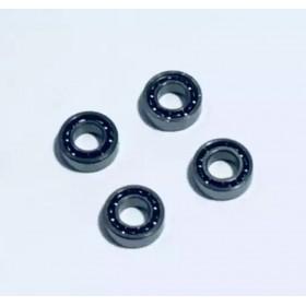 MR63 Bearing (4pcs), Inner Diameter X Outer Diameter X Height: 3x6x2mm