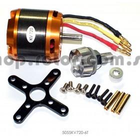 5055KV720-6T FSD Outrunner Brushless Motor 5055/720KV