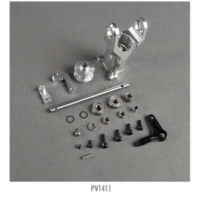 PV1411 THUNDER TIGER Metal Tail Unit, for Raptor [4855] Titan X50 Option Part